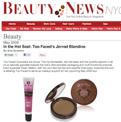 Beauty news nyc amy sciarretto writer page 4 for Too faced ceo